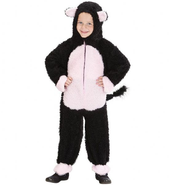 Toddler Fuzzy Cat Toddler Costume Animal Fancy Dress
